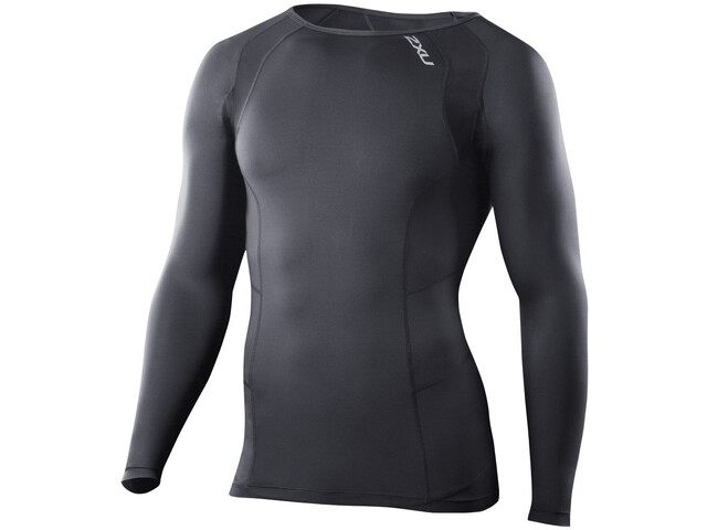 2XU Compression L/S Top Herr black/black